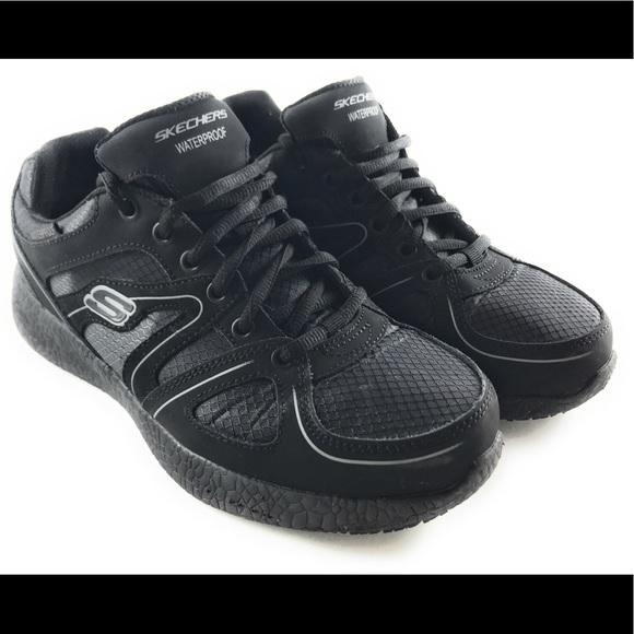 besser Bestellung abwechslungsreiche neueste Designs Skechers Gwinner Burst Work Safety Lace-Up Shoes